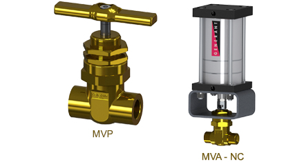 High Pressure Gas Control Valves