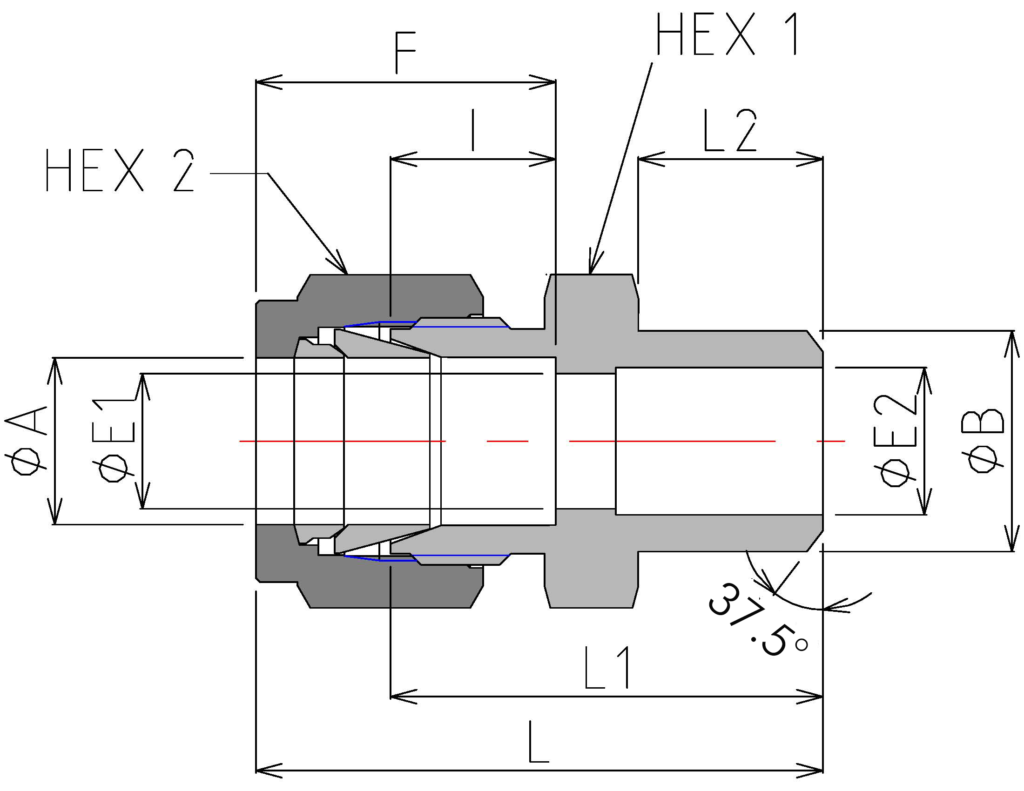 Male Pipe Weld Connector (DCB)