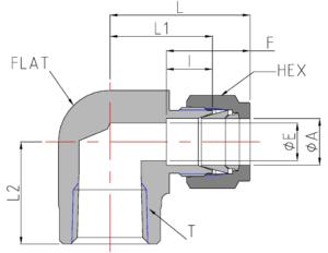 Female NPT Elbow (DLF)