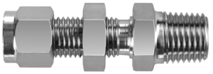 Bulkhead Male NPT Connector (DSC)